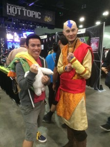 Older Aang!