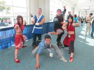 Team Avatar meets Ilram Choi!