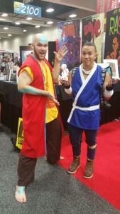 Adult Aang from the future?!