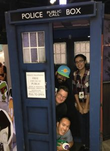 Questiny through the Tardis