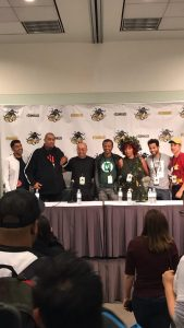 Race & Diversity in Comics & Entertainment panel